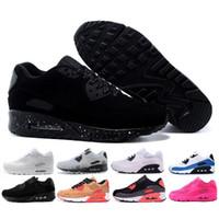 ingrosso vendita di sneaker aria-Vendita calda Air Cushion 90 Scarpe da corsa Uomini Air 90 di alta qualità Nuove scarpe da ginnastica economici scarpe sportive taglia 36-45