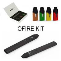 Wholesale Pocket Pens - Ofire Kit E Cigarette Kits Pocket Portable Vape Pen 200mAh Battery 0.7ml Cartridges With Magnetic USB Charger CoCo Smoking Pen