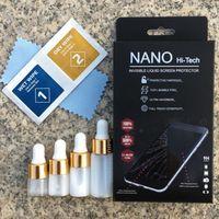 protetores de smartphones venda por atacado-1 ML 3 ML 5 ML Nano Revestimento Líquido Protetor de Tela para Tela de Vidro Universal Filme Guarda Para Todos Os Smartphone 9 H 4D 5D Full Curvo vidro