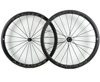 Wholesale light road bike wheels online - FANTECY C super light carbon road bicycle wheelset mm width mm depth Road Bicycle carbon wheels with UD matte finish U shape rim