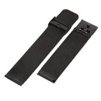 металлические наручные часы 24мм оптовых-18mm 20mm 22mm 24mm Stainless Steel Watchband Universal Metal Watch Band Strap Bracelet Mesh Belt