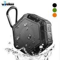 ip67 lautsprecher großhandel-Drahtlose Bluetooth-Lautsprecher IP67 Wasserdichter Lautsprecher Tragbarer MP3-Player für den Außenbereich mit TF-Anschluss für iPad Mobiltelefon-Stereo-Lautsprecher