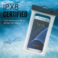 Wholesale floating waterproof lights for sale - Group buy Universal Dry Bag IPX8 Waterproof Floating Airbag Case PVC Protective Phone Bags Pouch For Diving Swimming iphone X XS MAX XR plus S10