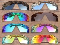 0dc4d92fe4 Lentes de repuesto PapaViva POLARIZED para gafas de sol auténticas con  radar. Protección UVB UVA 100%: múltiples opciones