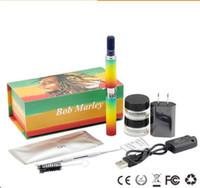 bob marley vaporizer toptan satış-Bitkisel Bob Marley Başlangıç Kiti E Sigaralar Kuru Ot Buharlaştırıcı Balmumu Vape Kalem Kitleri En Kaliteli Elektronik Sigaralar