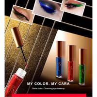 Wholesale metallic eye pencil online - NICEFACE Glitter Eyeliner Waterproof Makeup Eye Liner Pencils Long Lasting Metallic Shimmer Brand Liquid Eyeliner DHL