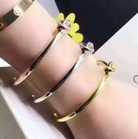 knoten armbänder silber großhandel-925 Sterling Silber Vintage Tie Knot Armband Armreifen Einfache Twist Open Knot Armreifen Für Frauen Indische Schmuck Modeschmuck