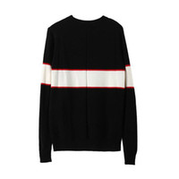 Wholesale wool shirts for men - Sale Black Luxury Brand Sweaters For Men Fashion Long Sleeve Letter Print Couple Sweaters Autumn Loose Pullover Sweaters For Women Shirts