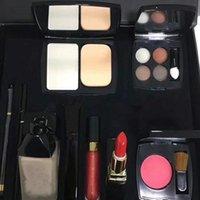 ingrosso scatola grande rossetto-Dropshipping di alta qualità nuovi cosmetici correttore matita per sopracciglia blush rossetto matita eyeliner kit di alta qualità di trucco scatola grande set