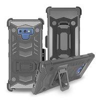 Wholesale hard clip holster online – custom Holster bossy combo Heavy Duty Shockproof Hybrid Case With Belt Clip Holster Hard Phone Shell Cover For LG Stylo Samsung J3