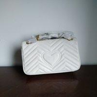 çanta tokaları toptan satış-Yeni avrupa klasik lüks stil bayan moda çanta omuz çantası çanta, saf deri, kalp şekli tasarımı, dekorasyon, toka kapatma, daha