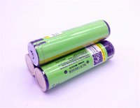 Wholesale power bank lithium battery - Batteries NCR 18650 Battery 18650B Rechargeable Battery for flashlight power bank medical equipment 3.65V 3400mAh Support wholesale
