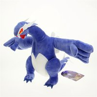 Wholesale lugia plush toy for sale - Group buy High quality Mega XY Dark Lugia Pikachu Plush Stuffed Doll Toy Holiday Gifts For Children quot cm