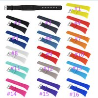 Wholesale gear fit watches for sale – best Silicone Wristband Watch Band Replacement Strap for Gear Fit SM R360 Fit2 Pro R360 Strap Wristband WatchBand free ship