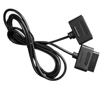 Wholesale snes nintendo resale online - New x ft Extension Cable for Nintendo SNES Controller Compatible for Retro Duo and for FC Twin Black
