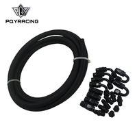 8 AN Pro/'s Lite Black Nylon Fuel Line Hose 350 PSI 5Meter//LOT