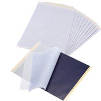thermisches kohlenstoffpapier großhandel-4 Schichten A4 Größe Carbon Schablone Thermal Copier Kit Tattoo Transferpapier