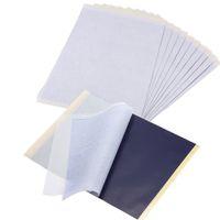 ingrosso a4 carte di dimensioni-Carta per trasferimento del tatuaggio in kit di copiatrici termiche in carbonio formato A4 a 4 strati