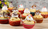 revestimientos de la magdalena de estilo al por mayor-Surtido de 30 estilos fiesta navideña taza para hornear cupcake forros de papel tazas de muffin