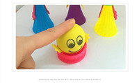 Wholesale little peoples toys resale online - Bounce people cm cm Decompression toy Creative Children s Finger Toy Novelty Bounce Little Person Colorful Elfs kids gift DHL pc