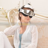 Wholesale head eyes massager - Relax Electric Head Eye Massager Health Care Adjustable Size Relaxation Massage