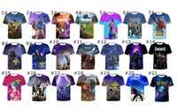 Wholesale kid cool clothes for sale - 21 Designs Fortnite Kids T Shirt Boys Gilrs Cool Print D Skull Summer T Shirt Short Sleeve Round Neck Top Tees Children Clothing New