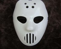 Wholesale halloween costume white mask resale online - Killer Mask White Scary Full Face Antique Masks Halloween Mask Masquerade Party Costume Cosplay Mask