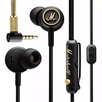 Wholesale pc modes - Marshall MODE EQ Earphone In-Ear Headphone With Mic In Ear Headset HIFI Music Earphones with EQ Switch Universal For Mobile Phone PC