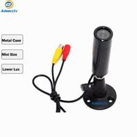 cámara lux al por mayor-Cámara de seguridad de cámara CCTV de bajo nivel de cámara de tamaño MiNi con filtro de IR de baja lux 2MP / 1080P Cámara de seguridad CCTV Sony IMX323 AR-AHD601H