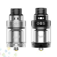 Wholesale free decks - Authentic OBS Engine 2 RTA 5ml 26mm Dual Coil Tank Atomizer 810 Drip tip Two Posts Build Deck Fit 510 Ecig DHL Free