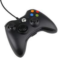 controladores pc venda por atacado-Microsoft Xbox 360 Game Controller Para PC Windows X-Box 360 X caixa de Gamepad com caixa de varejo frete grátis DHL