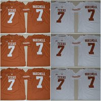 texas longhorns jerseys al por mayor-Texas Longhorns # 11 Sam Ehlinger # 21 Kyle Porter # 9 Collin Johnson # 30 Toneil Carter # 32 Daniel Young # 7 Shane Buechele College Camisetas