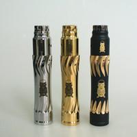 mekanik kalem mod kiti toptan satış-AV Toplayıcı MOD kiti elektronik sigara gizli Malzeme mekanik mekanik mods Pirinç Malzeme vape kalem kiti ecigarette