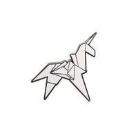 origami venda por atacado-Origami Unicorn Blade runner Emblema do Pin