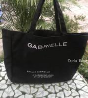 maquiagem cosméticos sacos grande venda por atacado-New big size famosa moda c canvan saco de compras saco de praia de luxo tote de viagem mulheres bolsa de lavagem de maquiagem cosméticos caso de armazenamento