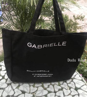 Wholesale travel bag big size for sale - Group buy New Big size Famous fashion C Canvan Shopping bag Luxury beach bag Travel tote Women Wash Bag Cosmetic Makeup Storage Case