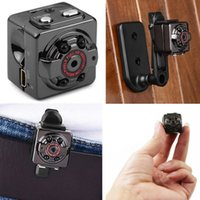 Wholesale wireless micro camcorders resale online - Mini Camera SQ8 Micro DV Camcorder Action Night Vision Digital Sport DV Wireless Mini Voice Video TV Out Camera HD P P