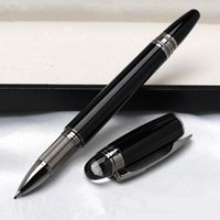 Wholesale Numbers Stars - Low price wholesale High quality MB pen with star-walker Black Roller Ballpoint Fountain Pen office school supplies and brand Series number