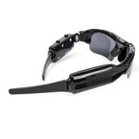 gafas de sol grabadora de video al por mayor-Multifunción Negro Gafas de sol Digital Video Recorder Cámara Diseñador Gafas Popular Portátil Anti desgaste al aire libre Gafas Hombres 30nl jj