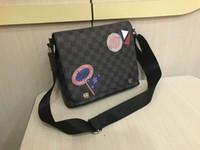dokumentenkoffer groihandel-New Genuine Leather Bags Umhängetasche Mans Messenger Bag Leder Büro-Taschen für Männer Dokument Aktentasche Reisetaschen