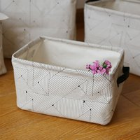 Wholesale Baskets For Toys - Large Laundry Bag Storage Basket for Clothes Foldable Toys Organizer Books Container Pouch Kitchen Bath Bin