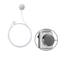 смотреть 38 мм оптовых-для Apple watch кабель зарядного устройства магнитный зарядный кабель для apple watch серии 38 мм 42 мм зарядки короткий кабель для dhl бесплатная доставка