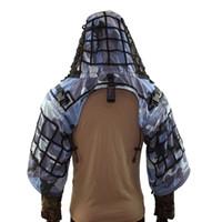 havalı takım elbisesi toptan satış-ROCOTACTICAL Hafif Sniper Tog Ghillie Suit Vakfı, yırtılmaz, Kamuflaj Taktik Ghillie Viper Hood, Kamuflaj Airsoft Gizleme Yelek