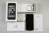 iphone 64gb kilidi toptan satış-Yenilenmiş Apple iPhone 5 S Unlocked iPhone i5S Cep Telefonu Çift çekirdekli iOS 11 64G Dokunmatik KIMLIĞI 3G WCDMA Bluetooth WIFI Cep Telefonu