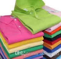 usa sporthemden großhandel-Großverkauf-2016 Sommer-heiße Verkaufs-Polo-Hemd USA-amerikanische Flaggen-Marken-Polo-Mann-Kurzschluss-Hülsen-Sport-Polo 309 # Mann-Mantel-Tropfen-freies Verschiffen