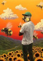 ingrosso fiori poster-Tyler the Creator Flower Boy Album Decor Art Silk Poster 24x36