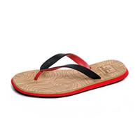 buenos zapatos de goma al por mayor-Bonito Caucho Casual Hombres Zapatos de Playa de Moda de Verano Chanclas Hombre Chanclas Sandalias Sapatos Hembre Sapatenis Masculino K61