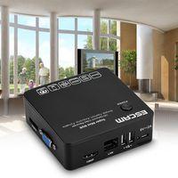 redes de vídeo venda por atacado-Escam K108 Mini NVR Onvif 8 Canais HD 1080p / 960p / 720p Gravador De Vídeo De Rede Portátil