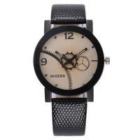 спортивный дизайн часов оптовых-Business Vintage Watch Men Sports Casual  Top  Wrist Watches Retro Design Leather Band Analog Alloy Quartz Clocks A65