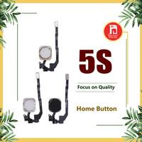 iphone home flex band großhandel-Für iPhone 5S Home Button Flexkabelband Schwarz Silber Gold Farbe Ersatz Reparatur Ersatzteile
